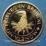 Monnaies Allemagne. Fribourg. Médaille or. 20 mm. 850e anniversaire 1120-1970