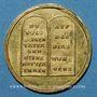 Monnaies Allemagne. Hambourg. Médaille de morale