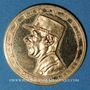 Monnaies Charles de Gaulle (1890-1970). Commémoration du Mémorial du Gal de Gaulle, 18 juin 1972. Médaille or