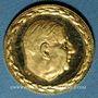 Monnaies Charles de Gaulle (1890-1970). Médaille or. 15,6 mm. 999 /1000. 1,75 gr