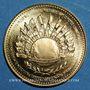 Monnaies Charles de Gaulle. Médaille or module de 20 francs 1980. 40e anniversaire de l'appel du 18 juin 1940