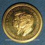 Monnaies Etats Unis. John et Robert Kennedy. Médaille or. 21,29 mm