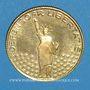 Monnaies Etats Unis. John F. Kennedy (+ 22.11.1963). Médaille or. 20,06 mm. 900 /1000. 3,49 g