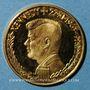 Monnaies Etats Unis. John F. Kennedy (+ 22.11.1963). Médaille or. 20,2 mm. 980/ /1000. 3,44 g.