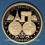 Monnaies France. 10e anniversaire de l'euro - 2012. Médaille en or. 585 /1000. 2,01 gr