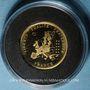 Monnaies France. 10e anniversaire de l'euro - 2012. Médaille en or. (PTL 585‰. 2,01 g)