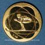 Monnaies France. J.O. d'hiver à Grenoble. 1968. Médaille or. 999 /1000. 1,76 g