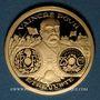 Monnaies Georges Clémenceau et la Grande Guerre. Médaille or 21mm.