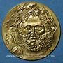 Monnaies Grèce. Athènes. Commémoration de la 1ère olympiade de 1896. Médaille or