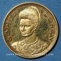 Monnaies Italie. Sophia Loren. Médaille or. 21 mm