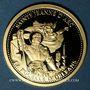 Monnaies Jeanne d'Arc. La Pucelle d'Orléans. Médaille or 18 mm.