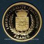 Monnaies Louis XIV (1643-1715). 350e annivesaire de l'accession au trône de Louis XIV. Médaille or 18 mm