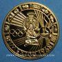 Monnaies Mexique. J.O. de Mexico. 1968. Médaille or. 34 mm
