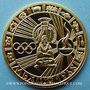 Monnaies Mexique. Jeux Olympiques. 19e Olympiade. Mexico 1968. Médaille or. 34 mm. 17,01 g