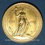 Monnaies Module 20 francs 1981. Marianne. R/: sceau de la Première République.  1000 /1000.  6,45 g.