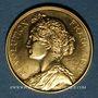 Monnaies Module 20 francs 1983. Marianne. R/: Mars, debout, appuyé sur sa lance.  1000 /1000.  6,45 g.