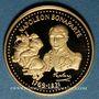 Monnaies Napoléon I (1769-1821). Médaille or 18 mm. Franchissement du col du Grand-Saint-Bernard
