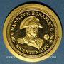 Monnaies Napoléon I. Bicentenaire de sa naissance. 1769-1969. Médaille en or. 999 /1000. 4 g