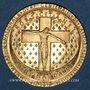 Monnaies Saint-Louis. 7e centenaire de sa mort. 1270-1970. Médaille en or