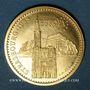 Monnaies Strasbourg. Visite de Jean-Paul II. 8-11 oct. 1988. Module de 20 francs. 1000 /1000. 6,45 g
