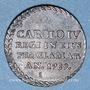 Monnaies Espagne. Charles IV (1788-1808). Médaille de proclamation. Sanlùcar de Barrameda, 1789