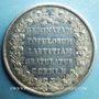 Monnaies Espagne-Portugal. Commémoration de mariages. 1785. Médaille en argent. 43,3 mm