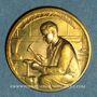 Monnaies Exposition internationale Arts & Techniques Paris. L'orfèvrerie 1937. Médaille en bronze. 32,08 mm