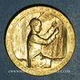 Monnaies Exposition internationale Arts & Techniques Paris. Le tissage 1937. Médaille en bronze. 32,06 mm