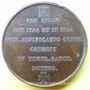Monnaies Fondation du séminaire de St Sulpice. 1820. Médaille en bronze. 41 mm