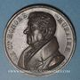 Monnaies Franc-maçonnerie. Honoré Muraire, lieutenant grand commandeur de l'Ordre Ecossais. 1829. Médaille cu
