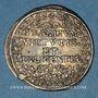 Monnaies FRANCFORT. Prix d'école du gymnase (1670-1690). Médaille en argent. 26,02 mm
