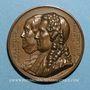 Monnaies Franklin / Montyon. 1833. Médaille bronze
