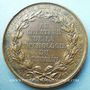 Monnaies Franz Joseph Gall, médecin (1758-1828). Médaille en bronze. 46 mm. Gravée par Barre en 1828