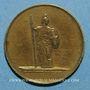 Monnaies Giuseppe Garibaldi (1807-1882). Médaille laiton
