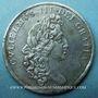 Monnaies Grande Bretagne. Abdication de Jacques II. 1688. Médaille étain 38 mm