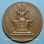 Monnaies Grande-Bretagne. Anne (1702 -1714). Médaille cuivre