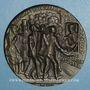 Monnaies Grande-Bretagne. Torpillage du Lusitania. 1915. Médaille fer