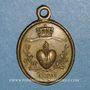 Monnaies Gray (Franche-Comté). Notre dame de Gray. 1823. Médaille bronze
