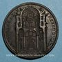 Monnaies Grégoire XIII (1572-1582). Chapelle grégorienne. Médaille de restitution, bronze