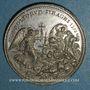 Monnaies Grégoire XIII (1572-1582). Massacre de la Saint Barthélémy. Restitution (18e-19e s.) . Etain. 34,8 m