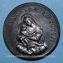 Monnaies Grégoire XV (1621-1623). La Vierge et l'Enfant, 1623. Médaille de restitution, bronze