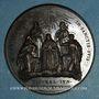 Monnaies Grégoire XVI (1831-1846). Canonisation de l'an 1839. Médaille bronze