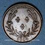 Monnaies Henri d'Artois, comte de Chambord, dit Henri V. Médaille Cuivre. 1849