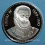 Monnaies Henri IV (1589-1610). Médaille argent. 34,2 mm.