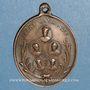 Monnaies Hommage aux cinq jésuites assassinés par la Commune en 1871. Médaille bronze