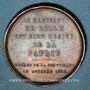 Monnaies Hommage aux lillois de 1792. Médaille en bronze. 1845. 26,3 mm. Gravée par A. Lecomte