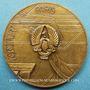 Monnaies Inauguration de l'aérogare d'Orly. 1961. Médaille en bronze. 44,3 mm. Gravée par H. Dropsy