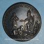 Monnaies Innocent VIII (1484-1492). Capture du turc Dschem. Médaille de restitution, bronze