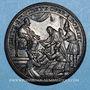Monnaies Innocent XI (1676-1689). Réception des ambassadeurs du Siam, 1688. Médaille de restitution bronze