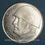 Monnaies Italie. 20 lire 1943 Mussolini. Argent. 30,5 mm